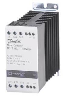 DANFOSS - Электронный контактор для электродвигателя MCI 15 DOL