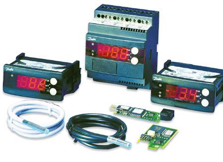 DANFOSS - Контроллеры температуры EKC