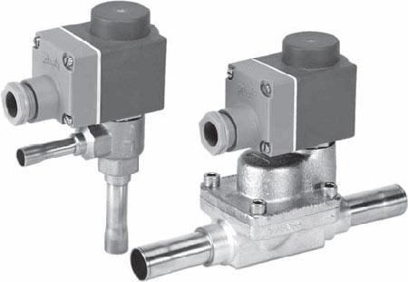 DANFOSS - Электронно-управляемые клапаны AKV