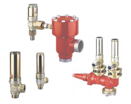 DANFOSS - Предохранительные клапаны и двойные запорные вентили