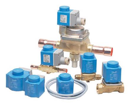 DANFOSS - Соленоидные клапаны для хлорфторсодержащих хладагентов
